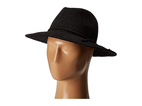 fe6d8100e847e San Diego Hat Company CTH8078 Knit Fedora with Braided Faux Suede at ...