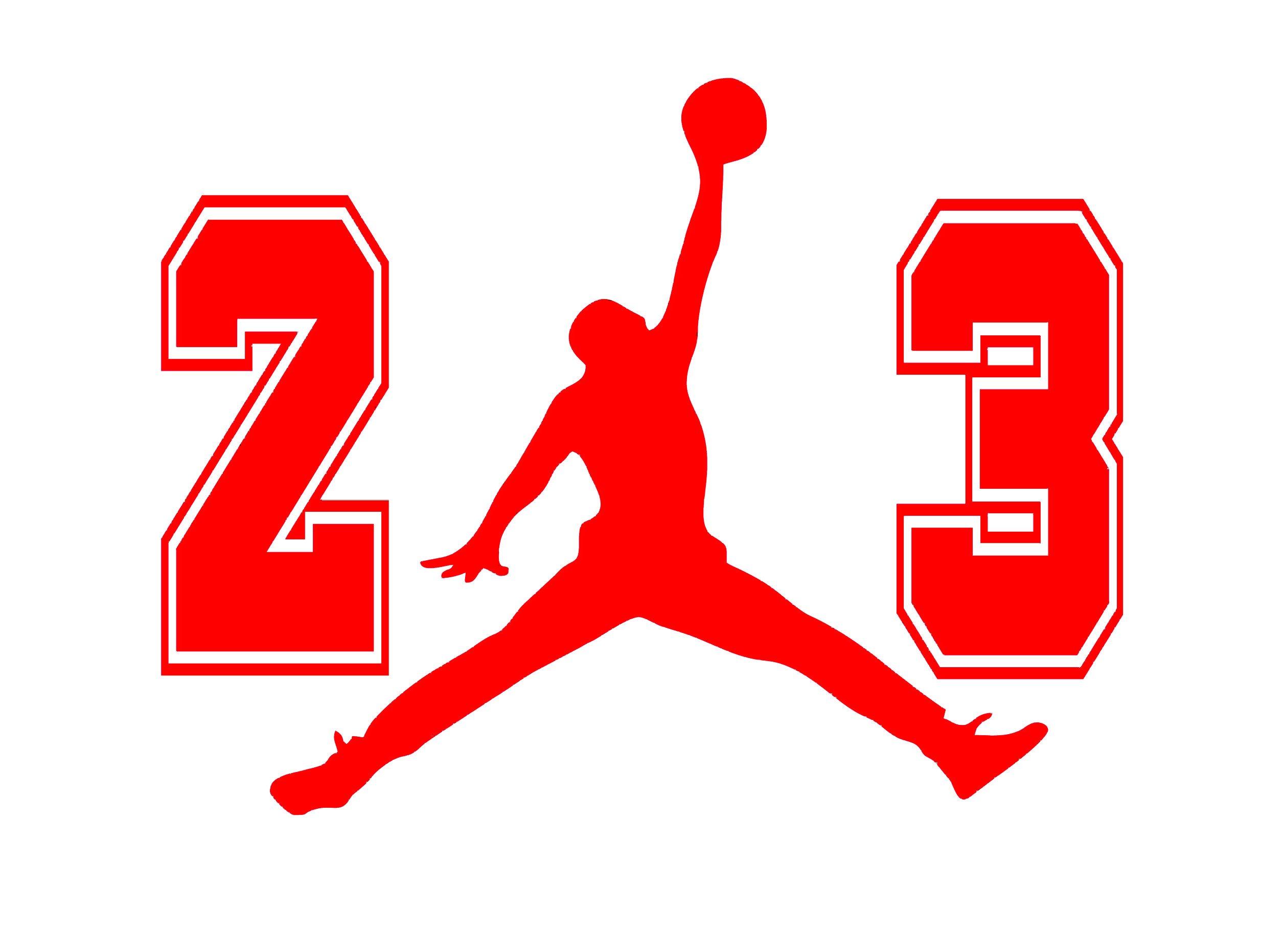 Percibir Querido raíz  Amazon.com: 23 Flight Jordan Jumpman Logo Huge AIR Vinyl Decal Sticker 4