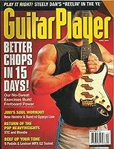 GUITAR PLAYER MAGAZINE APRIL 1999 JIMI HENDRIX & BAND OF GYPSYS LIVE!