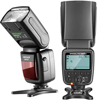 Neewer NW561 LCD Display Flash Speedlite for Canon Nikon Panasonic Olympus Pentax Fujifilm and Sony with Mi Hot Shoe, DSLR...