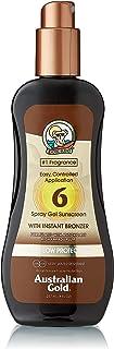 Australian Gold SPF 6 Spray Gel with Instant Bronzer 237 ml