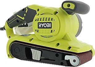 "Ryobi BE319 6 Amp Portable 320 Feet / Minute Corded Belt Sander (3"" x 18"") w/ Onboard Removable Dust Bag (Medium Grit Sand..."