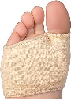 پد های متاتارسال Forefoot برای زنان و مردان - 2 جفت 4 آستین بانیون انگشتان پا با کوسن بالشتک های ژله ای برای تسکین درد متاتارسالژیا ، پای دیابتی ، نوروم مورتون ، پینه