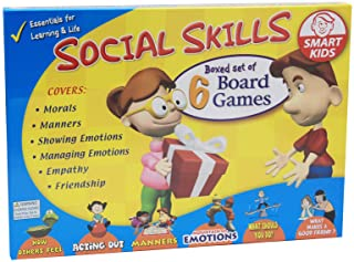 منابع آموزشی دیداکس بازی های رومیزی مهارت های اجتماعی (6 بسته) ، چند رنگ