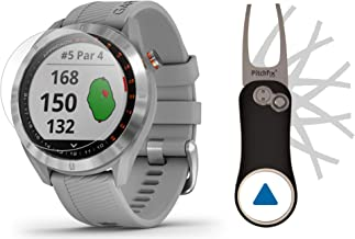 $214 » Garmin Approach S40 (Gray) Golf GPS Smartwatch Bundle | Includes Garmin/PlayBetter Pitchfix Divot Tool & HD Screen Protect...