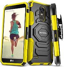 LG Stylo 3 / LG Stylo 3 Plus Case, Evocel [New Generation Series] Belt Clip Holster, Kickstand, Dual Layer for LG G Stylo 3 (LS777) / LG G Stylo 3 Plus (2017 Release), Yellow