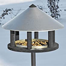 VOSS.garden Vogelhaus im Skandinavischen Design Vogelfutterstation Vogelhäuschen Gartenvögel Singvögel Wildvögel füttern Vogelbeobachtung Vogelfutterhaus