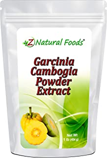 Garcinia Cambogia Extract Powder - 50% HCA (Hydroxycitric Acid) - All Natural Support for Weight Loss & Appetite Control -...