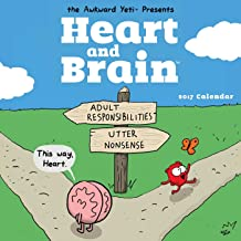 Heart and Brain 2017 Wall Calendar