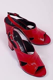 TARÇIN Hakiki Deri Klasik Günlük Kadın Topuklu Ayakkabı TRC71-0115