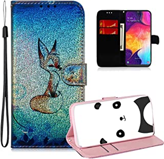 ISADENSER 三星 A20 手机壳 Galaxy A30 手机壳 A] ShineTX-FlipCase-3