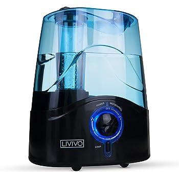PureAire Ultrasonic Humidifier Cool Mist Auto Shut off