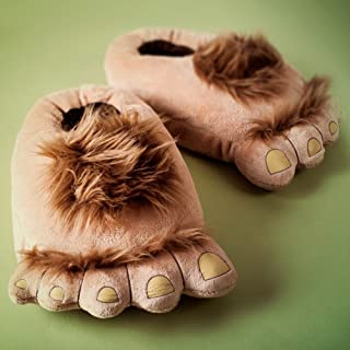 COSEAN Men Warm Winter Soft Cute Plush Anti-slip The Hobbit Slippers Shoes Indoor Home