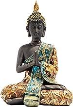 Zen Meditation Garden Praying Buddha Statue Feng Shui Hindu Miniature Figurine for Home Decoration for Yoga, Relaxing, Spi...