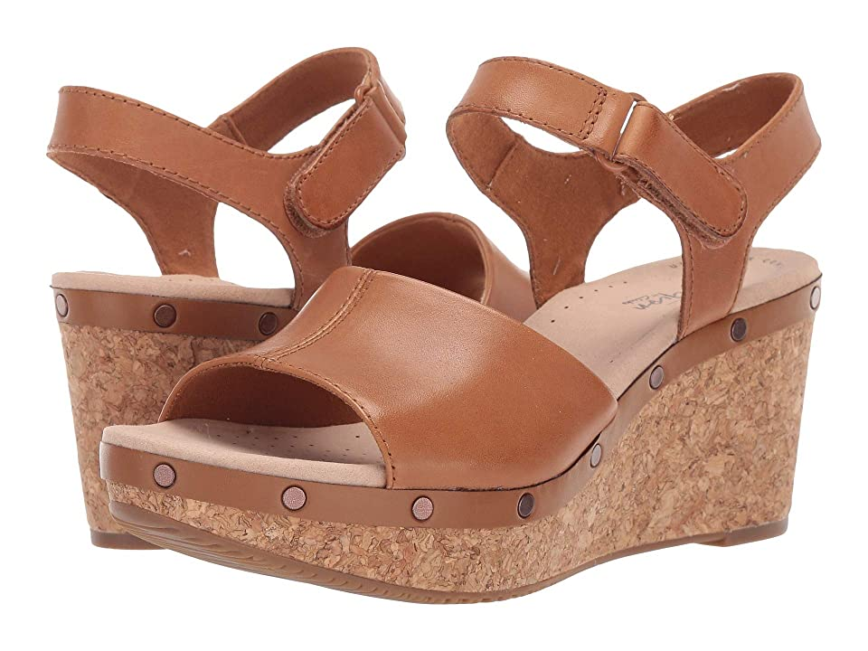Clarks Annadel Clover (Tan Leather) Women