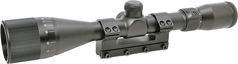 Hammers 4-12X40AO Air Gun Rifle Scope for High Power Magnum Spring Air Gun Rifle with Solid Mount Built-in Stop Pin