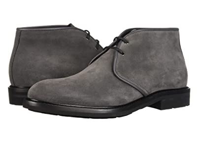 Aquatalia Rinaldo (Dark Charcoal Suede) Men