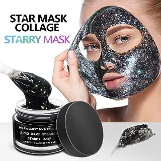 ALIVER Star Face Mask, Starry Mask,Star Mask, Blackhead Remove Peel Off Mask