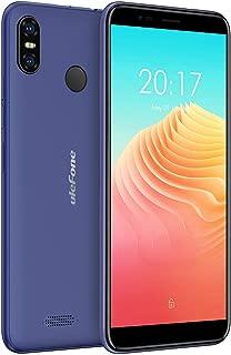 Ulefone S9 Pro スマートフォン simフリー Android 8.1 デュアル (ナノ sim) + 1カードスロット 5.5インチ画面 13MP+5MPデュアルリアカメラ 5MPフロントカメラ グローバル 4G LTEバンド対応 2GB RAM+16GB ROM (128GB までサポートする) 3300mAhバッテリー 顔認証 指紋認証 au不可 技適認証済み 一年保証(ブルー)