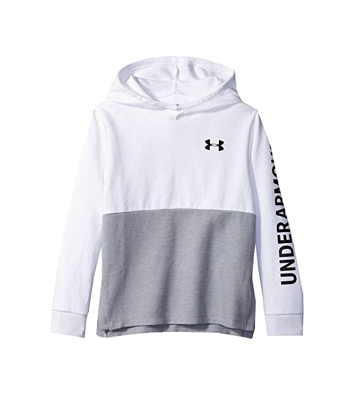 Many Colors /& Sizes Under Armour Girls/' ColdGear Pullover Hoodie MSRP $44.99