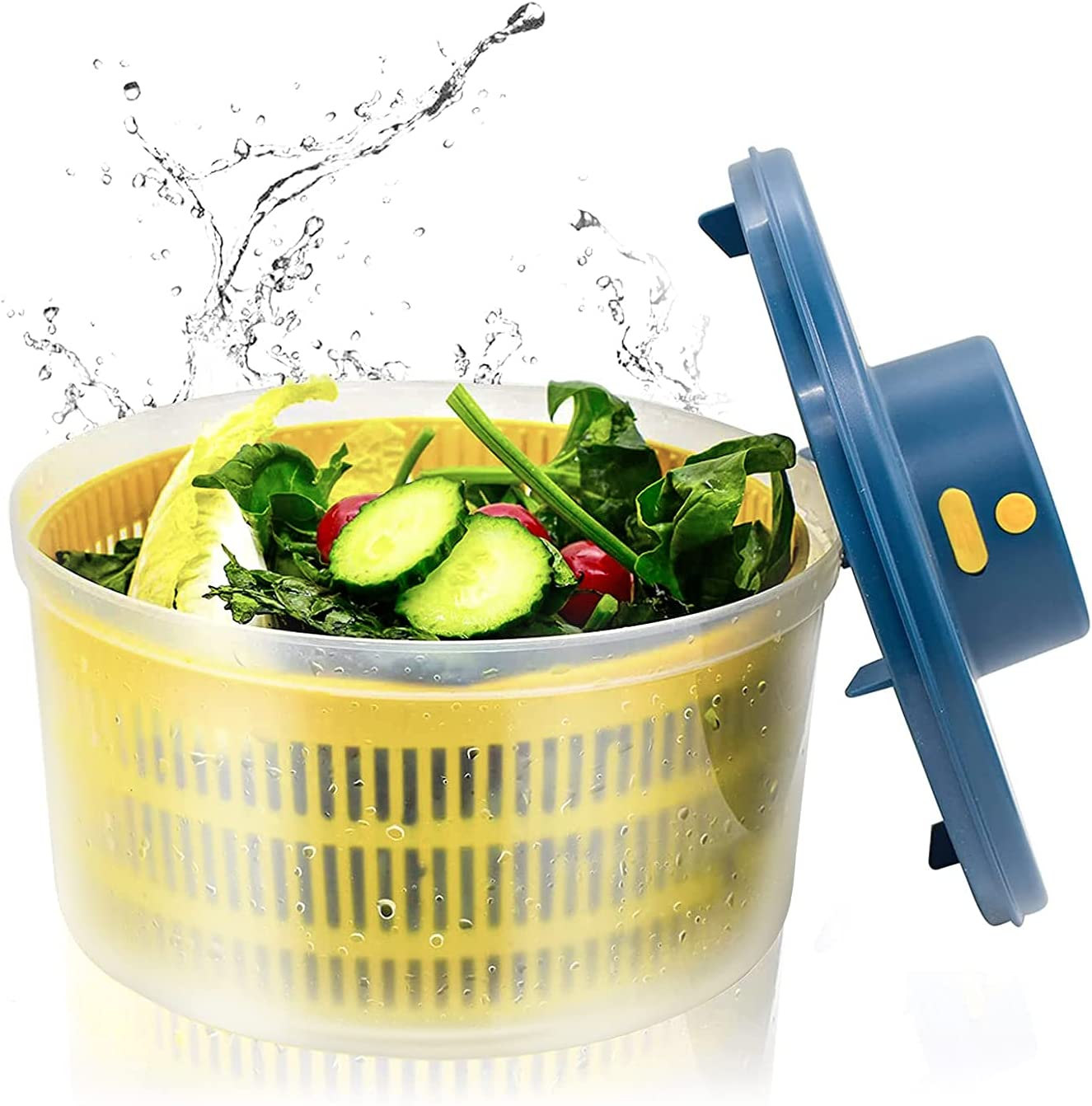 Surprise price BORNKU Electric Salad Spinner 3L Washer Bowl USB Vegetable with Max 78% OFF