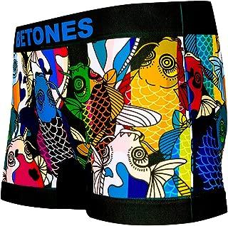 BETONES (ビトーンズ) メンズ ボクサーパンツ DINHO BLACK dwearsステッカー入り ローライズ アンダーウェア 無地 ブランド 男性 下着 誕生日 プレゼント