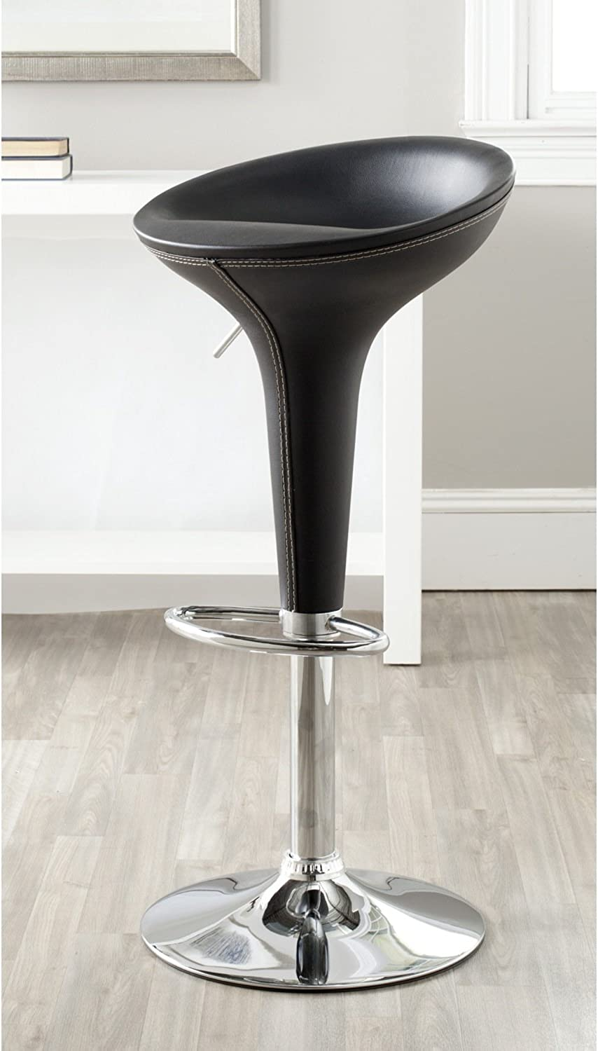 Safavieh Home Collection Shedrack Black Barstool