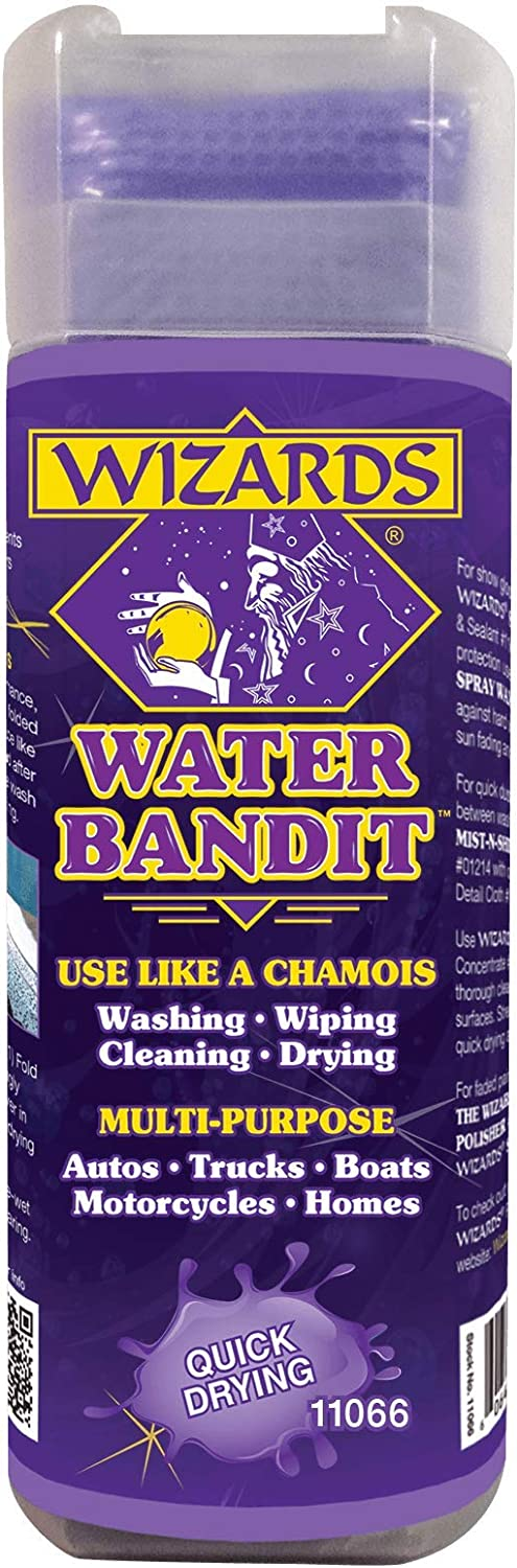WIZARDS - Water Bandit All Purpose Chamois for Synthetic Memphis Mall V Max 68% OFF Cloth