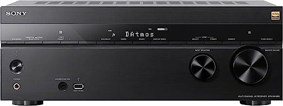 Sony STR-DN1080 - Receptor AV de Cine en casa (7.2.1 Canales, 165 W por Canal, Dolby Atmos, DTS:X, Bluetooth, NFC, Wi-fi, Airplay, Chromecast, Compatible con 4K Ultra HD y HDR) Color Negro