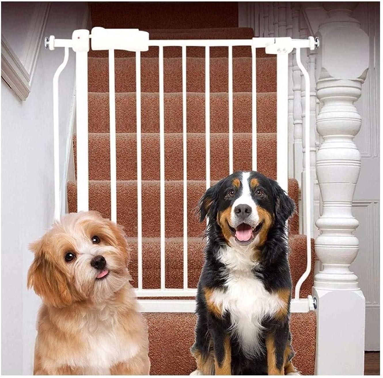 つぶす宝パネルベビーゲート フェンス ドア付き 階段や廊下の壁には、デュアルロックベビーゲート簡単に調節可能なエキストラ安全な階段子供の安全ドアパンチフリーインストールマウントペットフェンス圧力締結(Hの78センチメートル) (Color : High78c...