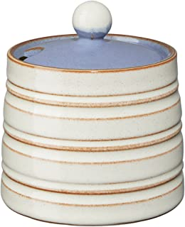 Denby USA Heritage Fountain Covered Sugar Bowl, Multicolor