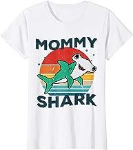 Womens Hammerhead Mommy Shark Mom Grandma Halloween Christmas T-Shirt