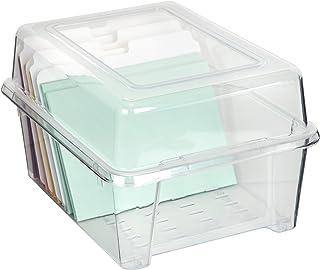 ArtBin, Clear Card & Photo Box, Box & Dividers