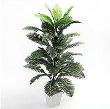 JIAN 90 cm 39 hoofden kunstmatige palmplanten grote tropische boom nep palm bladeren zijde Perzisch gebladerte groene plan...