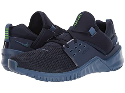 Nike Free X Metcon 2 (Obsidian/Electric Green/Mystic Navy) Men