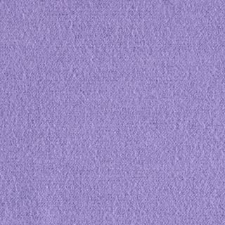A.E. Nathan 108in Flannel Lavender Fabric By The Yard
