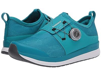 Shimano IC3 Indoor Cycling Shoe (Green) Women