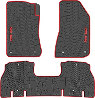 2015 jeep wrangler rubber floor mats