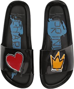 + Melissa Luxury Shoes Vivienne Westwood Anglomania + Melissa Beach Slide II