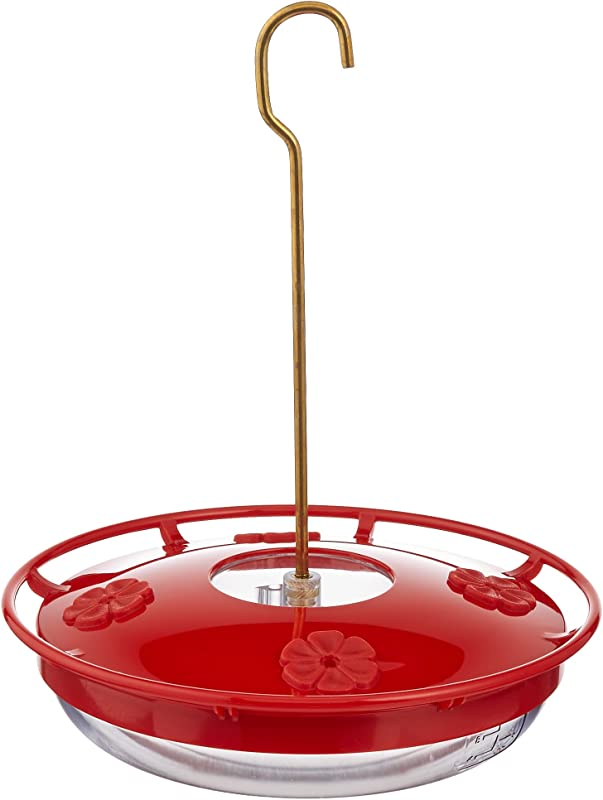 Aspects HummZinger HighView 12 Oz Hanging Hummingbird Feeder 429 Red