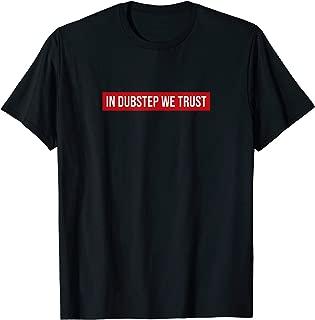 Cool Dubstep T-Shirt, Dubstep Riddim Dubby Jungle Rave Music T-Shirt