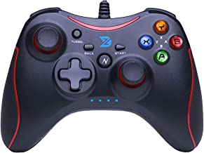 ZD-N?pro?[Red] Wired Gaming Controller Gamepad for Nintendo Switch,Steam,TV Box PC(Win7-Win10),Android (Red)