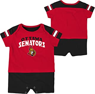 24 Months Outerstuff NHL Ottawa Senators Children Unisex Hello Mascot Short Sleeve Tee Red