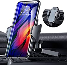 Ultra Stable Car Phone Mount, VICSEED NEWEST CD Slot & Air Vent Universal Cell Phone Holder for Car, Fit for iPhone SE 11 Pro Max Xs Xr X 9 8 7 Plus, Galaxy Note 10 S20 S20+ S10+ S10 S9 Google LG Etc.