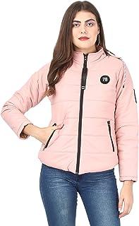 AD & AV Women's Solid Parka Jacket