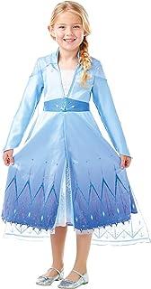 Rubie's Official Disney Frozen 2, Elsa Premium Dress, Childs Costume (5-6 Years) (3004645-6)