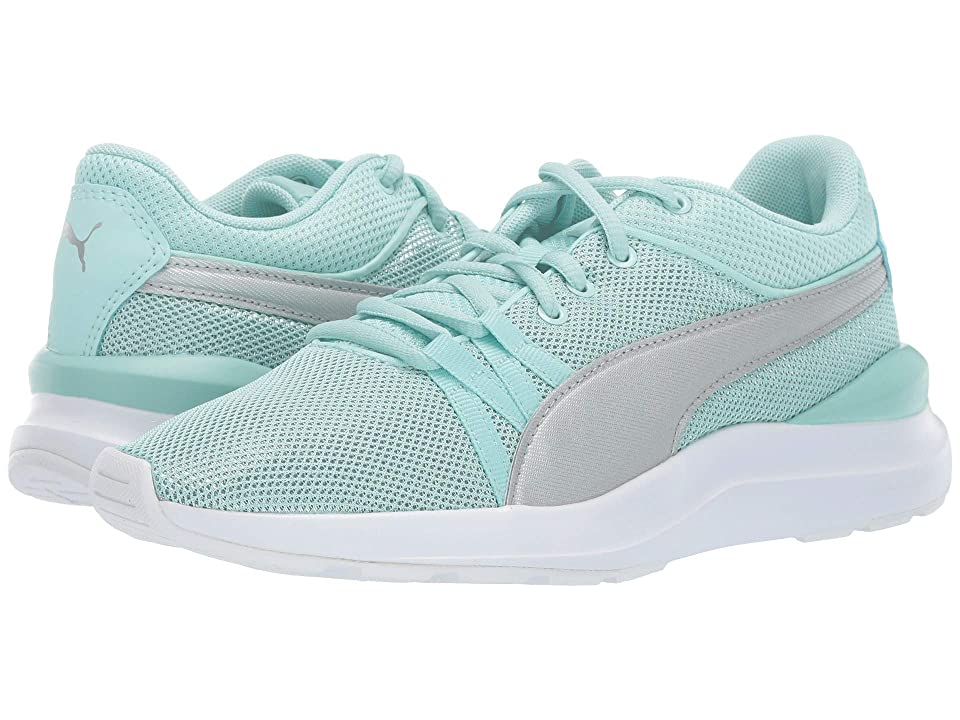 Puma Kids Adela Spark (Big Kid) (Fair Aqua/Puma Silver) Kid