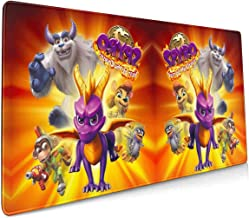 Spyro-reignited-Trilogy-Art-ps4.webp Extended Gaming Mouse Pad with Stitched Edges, Large Mousepad with Premium-Textured Cloth, Mouse Mat for Gamer