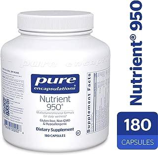 Pure Encapsulations - Nutrient 950 - Hypoallergenic Multi-Vitamin/Mineral Formula for Optimal Health* - 180 Capsules