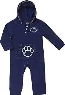 Fast Asleep Pennsylvania State Baby and Toddler Hooded Romper